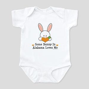 Some Bunny In Alabama Loves Me Infant Bodysuit