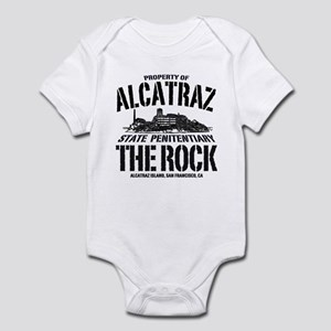 PROPERTY OF ALCATRAZ Infant Bodysuit