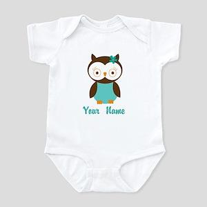Personalized Owl Infant Bodysuit