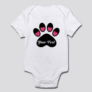 Personalizable Paw Print Body Suit
