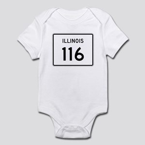 Route 116, Illinois Infant Bodysuit