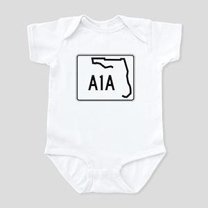 Route A1A, Florida Infant Bodysuit