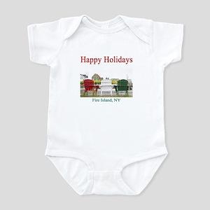 Fire Island Holiday Infant Creeper