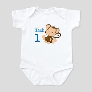 Custom Monkey Infant Bodysuit