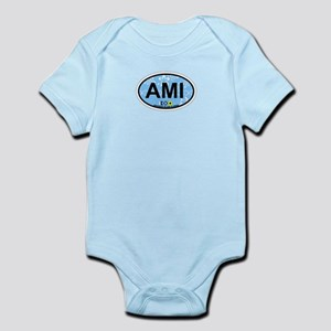 Anna Maria Island - Map Design. Infant Bodysuit