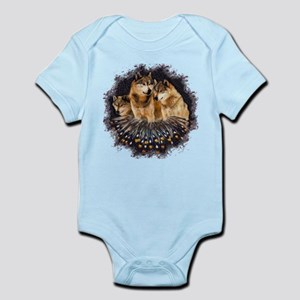 Golden Wolves Infant Bodysuit