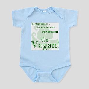 8c65f0171 Go Vegan Baby Clothes & Accessories - CafePress