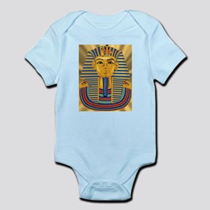 Tut Mask on Golden Rays Infant Bodysuit