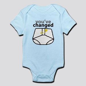 You've Changed Diaper Infant Bodysuit