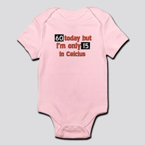 60 year old designs Infant Bodysuit