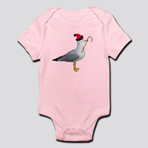 Santa Seagull Infant Bodysuit