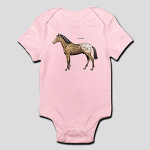 Appaloosa Horse Infant Bodysuit
