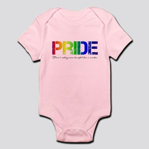 Pride Rainbow Infant Bodysuit