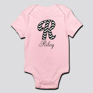 Monogram R Your Name Custom Body Suit