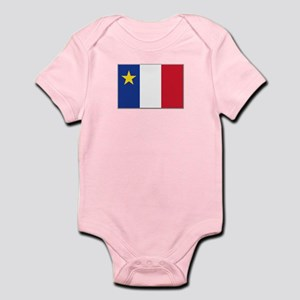 Flag of Acadia Infant Bodysuit