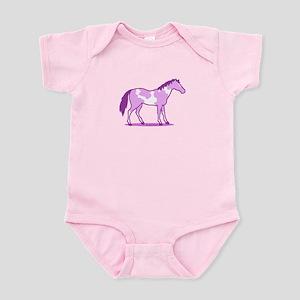 Purple Horse Body Suit