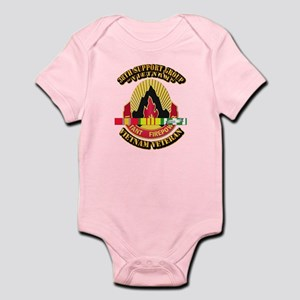 38th Support Group w SVC Ribbon Infant Bodysuit