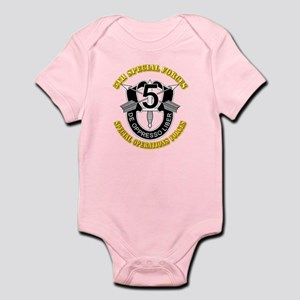 5th Special Forces - DUI Infant Bodysuit
