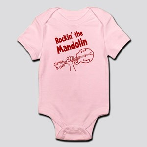 ROCKIN MANDOLIN Infant Bodysuit