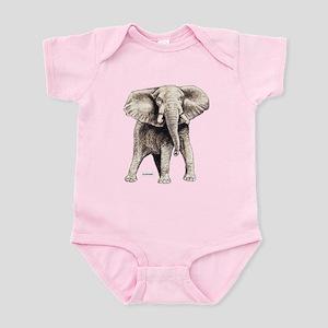 Elephant Animal Infant Bodysuit