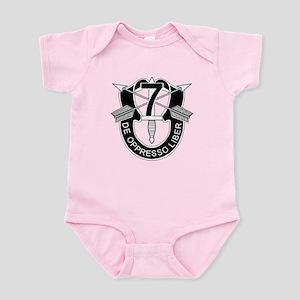 7th Special Forces - DUI - No Txt Infant Bodysuit