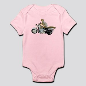 Motorcycle Squirrel Infant Bodysuit