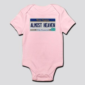 West Virginia - Almost Heaven Infant Bodysuit