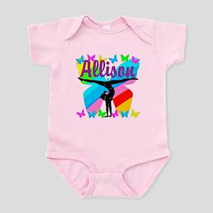 PERSONALIZE GYMNAST Infant Bodysuit