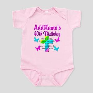 LOVING GOD 40TH Infant Bodysuit