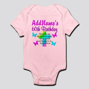 GOD LOVING 60TH Infant Bodysuit