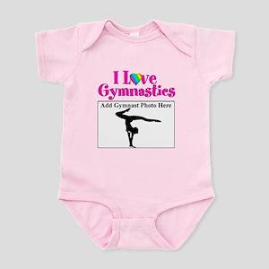 GYMNAST LOVE Infant Bodysuit