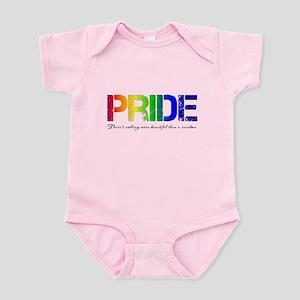 Pride Rainbow Infant Bodysuit