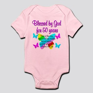 DELIGHTFUL 50TH Infant Bodysuit