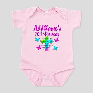 70TH PRAISE GOD Infant Bodysuit
