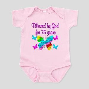 75 YR OLD ANGEL Infant Bodysuit
