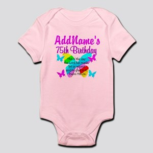 75TH BUTTERFLY Infant Bodysuit
