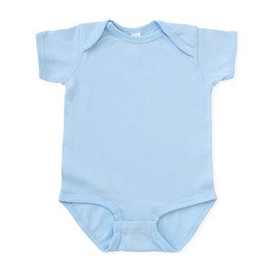 CafePress My Daddy is The DJ Body Suit Cute Long Sleeve Infant Bodysuit Baby Romper Sky Blue