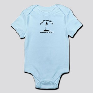 "Cisco Beach ""Lighthouse"" Design. Infant Bodysuit"