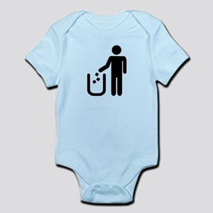 Litter waste garbage Infant Bodysuit