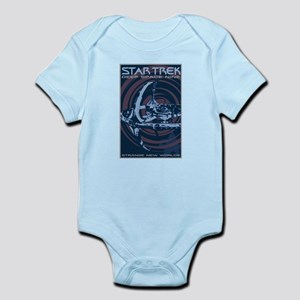 Retro Star Trek: DS9 Poster Infant Bodysuit