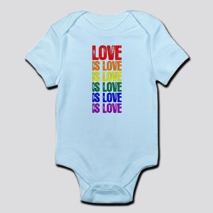 Love is Love is Love Infant Bodysuit