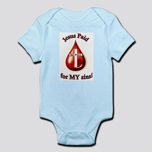 Jesus Paid the Price Infant Bodysuit