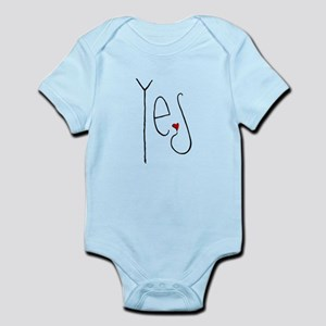 Yes Heart Infant Bodysuit