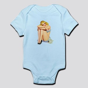 Pin-Up Girl Infant Bodysuit