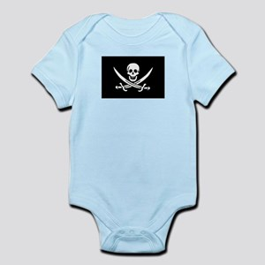 Pirate Baby Calico Jack Rackham Bodysuit
