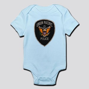 Union Pacific Police patch Infant Bodysuit