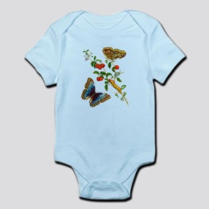 Maria Sibylla Merian Botanical Infant Bodysuit