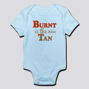 Burnt is the new Tan Infant Bodysuit