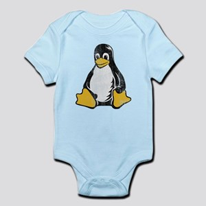 linux tux penguin Infant Bodysuit