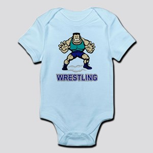 Funny Wrestling Infant Bodysuit